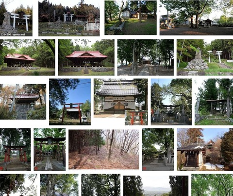 粟野神社 長野県長野市豊野町石のキャプチャー