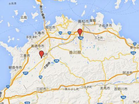 香川県の別表神社