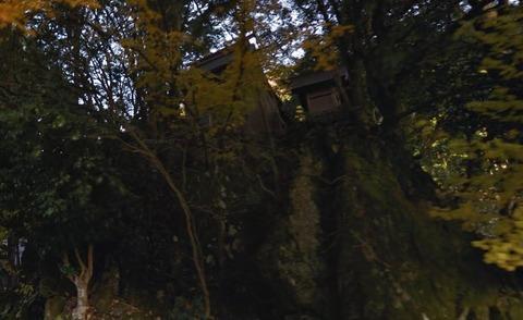 市杵島神社 滋賀県高島市朽木大野のキャプチャー
