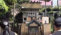 魚河岸水神社遥拝所 東京都中央区築地のキャプチャー