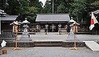 宇太水分神社(下社) - 芳野川流域の水分三社の一つ、崇神期の創祀とも、式内大社の論社