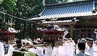 玉垣神社(睦沢町) - 神武天皇祀る上総十二社祭の玉前六社、「下之郷の赤御輿」が有名
