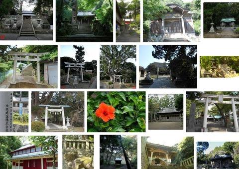 八幡神社 静岡県賀茂郡南伊豆町子浦のキャプチャー