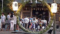 宇佐神社(さぬき市) - 桜の名所・亀鶴公園に鎮座、鎮花祭やショウブまつり・かぐや姫