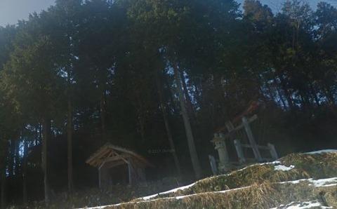 大野神社 岡山県真庭市野のキャプチャー
