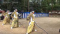 伊多波刀神社 - 愛知春日井市、源頼朝・織田信長も寄進した式内古社、10月に流鏑馬神事