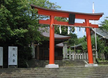 藤島神社 福井県福井市毛矢のキャプチャー