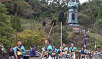 上八幡宮(上天草市) - 10月に御幸行列、県内唯一の一人傘矛と「まんさくじゃー」踊り