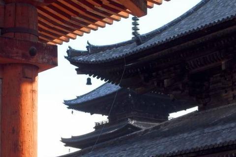 油被害のあった世界遺産・東寺の防犯カメラにも、関東や奈良で映っていた同一のような男の姿のキャプチャー