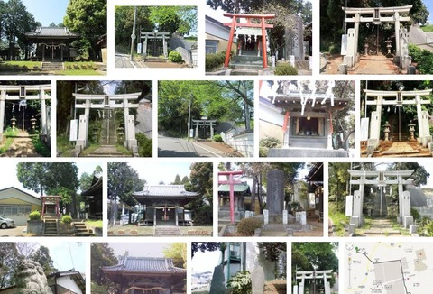 杉山神社 神奈川県横浜市都筑区佐江戸町のキャプチャー