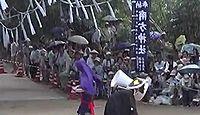波留南方神社 - 鹿児島阿久根市、南北朝期に奉斎、8年に1度の旧暦7月に神舞の特殊神事
