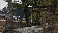 御井神社 奈良県宇陀市榛原桧牧のキャプチャー