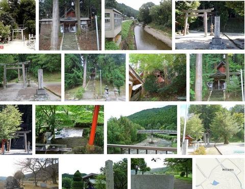 阿波神社 三重県伊賀市下阿波のキャプチャー