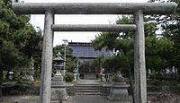 額西神社 石川県金沢市額乙丸町