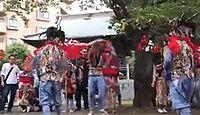 驚神社 神奈川県横浜市青葉区新石川町