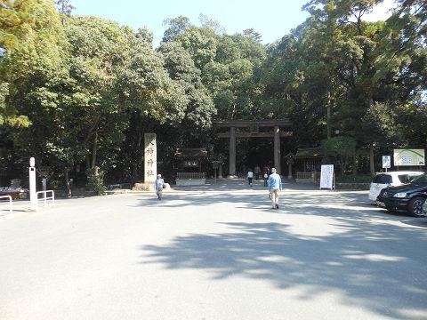 大神神社の境内に到着 - ぶっちゃけ古事記