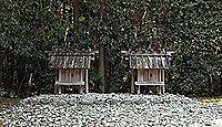 神麻続機殿神社末社八所 - 神宮125社、内宮・所管社 大小八つの祠からなる八社