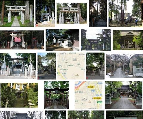 中村神社 長野県長野市松代町西条のキャプチャー