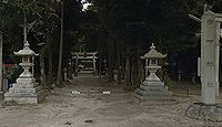 樹下神社 滋賀県大津市南比良のキャプチャー