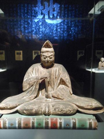 太安萬侶神坐像(大古事記展) - ぶっちゃけ古事記