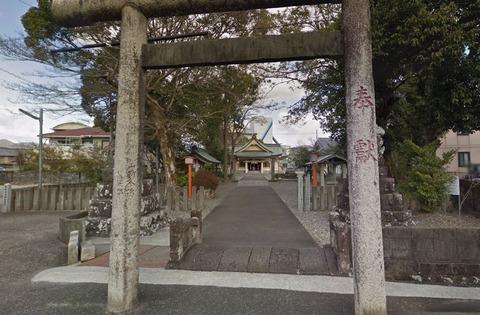 郡頭神社 高知県高知市鴨部上町のキャプチャー