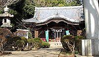 吾妻神社(二宮町) - 日本武尊のために海中に身を投げた妻の弟橘樹媛の櫛が届いた地