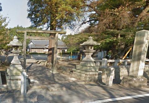 五十鈴神社 滋賀県甲賀市水口町東林口のキャプチャー
