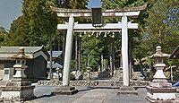 斗布神社 福井県越前市白崎町