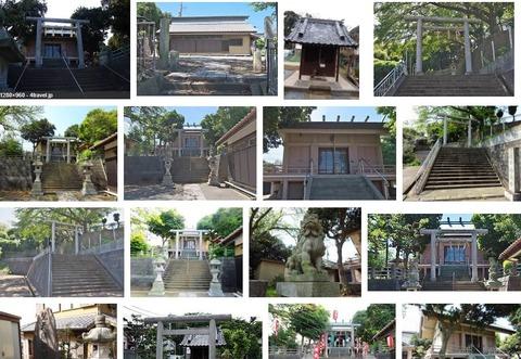 神明社 神奈川県横浜市栄区公田町のキャプチャー