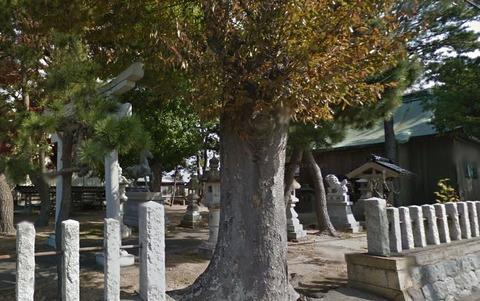松本神社 石川県白山市松本町のキャプチャー