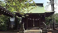 岩戸八幡神社 東京都狛江市岩戸南のキャプチャー