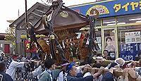 落幡神社 - 神奈川鶴巻温泉に鎮座、鶴巻の旧地名「落幡」を冠し、「落幡」の伝承が残る