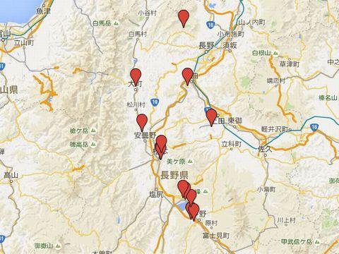 長野県の別表神社