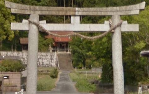 大野神社 山口県下関市菊川町のキャプチャー