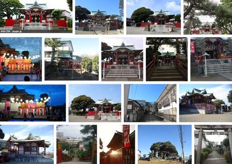 杉山神社 神奈川県川崎市高津区末長のキャプチャー