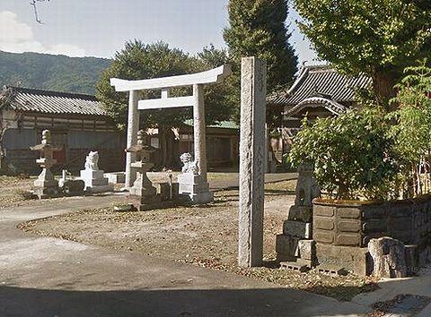 八幡神社 徳島県吉野川市川島町児島前池北のキャプチャー