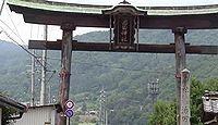 治田神社 長野県千曲市稲荷山のキャプチャー