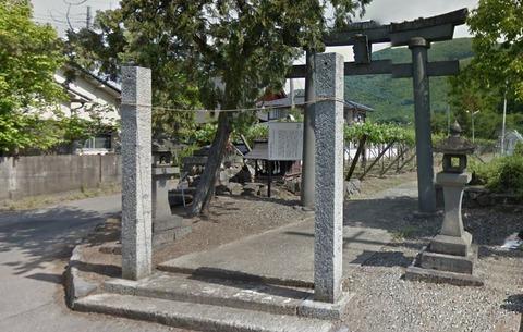 二宮神社 山梨県甲府市川田町のキャプチャー