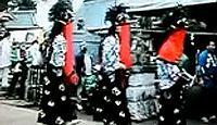 大戸神社(香取市) - 香取神宮の摂社、1月に御花祭り、2003年には60年に一度の神幸祭