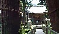菅原神社(栢野町) - 樹齢2300年・樹高54メートルの大杉、山中温泉随一のパワースポット