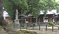 津江神社 福岡県八女市黒木町今