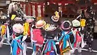 早吸日女神社(佐伯市) - 平安末期に創建、2年ごとの大祭で八人太鼓及び獅子舞の演舞