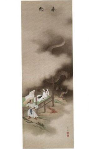 八岐大蛇図 - ヤマタノオロチ退治、すべての要素を一枚に表現して醸し出す臨場感がスゴイ【大古事記展】のキャプチャー