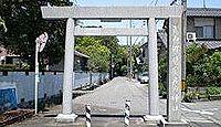 宇波刀神社(安八郡神戸町) - 式内論社、明治維新を通じて荒廃、現在は日吉神社の管理下