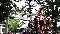 春日神社(平塚市) - 平塚宿鎮守、源頼朝が安産祈願、江戸後期の特徴有す石製狛犬