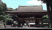 御上神社 - 「近江富士」が神体山、本殿は国宝、重文も多く、「ずいき祭」も有名