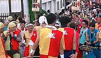 諏訪神社(湖西市) - 景行期の創祀、7月には「海道の奇祭」遠州新居手筒花火が行われる