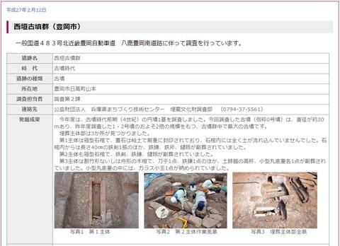 主体部に土砂が流れ込んでいない30メートル円墳で40センチの鉄剣など出土、報告会へ - 兵庫・豊岡のキャプチャー