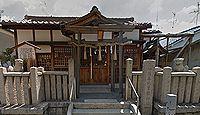 須牟地曽根神社 大阪府堺市北区蔵前町