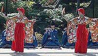 重要無形民俗文化財「綾子舞」 - 黒姫神社の祭礼に演じられる踊り、囃子舞、狂言のキャプチャー